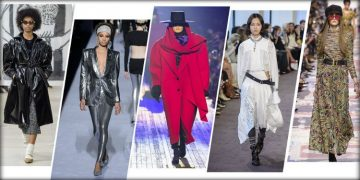 The Amazing Runway Trends of 2018 That are Replicated by The Clothing Manufacturers