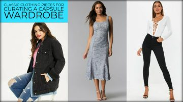 Classic Clothing Pieces That are Perfect for Curating A Capsule Wardrobe