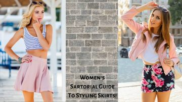 Women's Sartorial Guide To Styling Skirts!